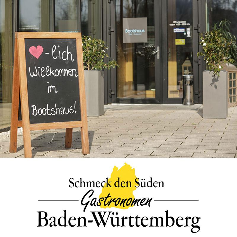 Bootshaus Schmeck den Süden Gastronomen Baden-Württemberg